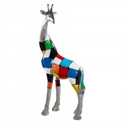 Sculpture girafe JINA H. 165 cm