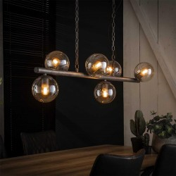 Suspension 6 lampes 'THADEE'