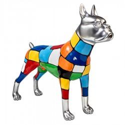 Sculpture chien GINO H. 47 cm
