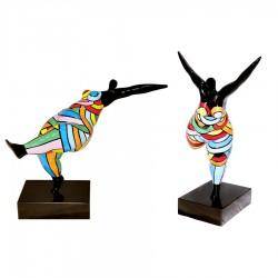 Sculpture danseuse DORIANE H 38 cm