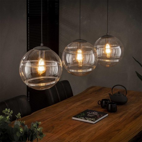 Suspension 3 lampes' TACOMA'