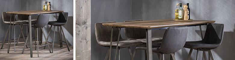 Tables hautes mange-debout MiLOME
