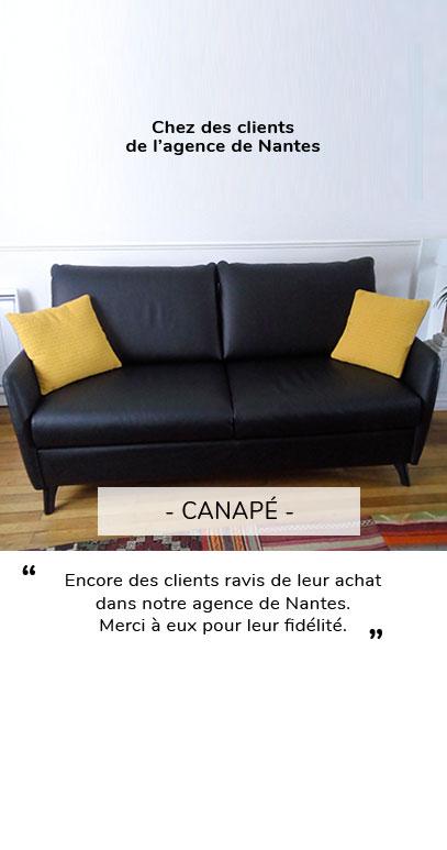 CANAPE AVIS CLIENT NANTES