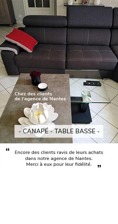 TABLE BASSE CANAPE AVIS CLIENT NANTES