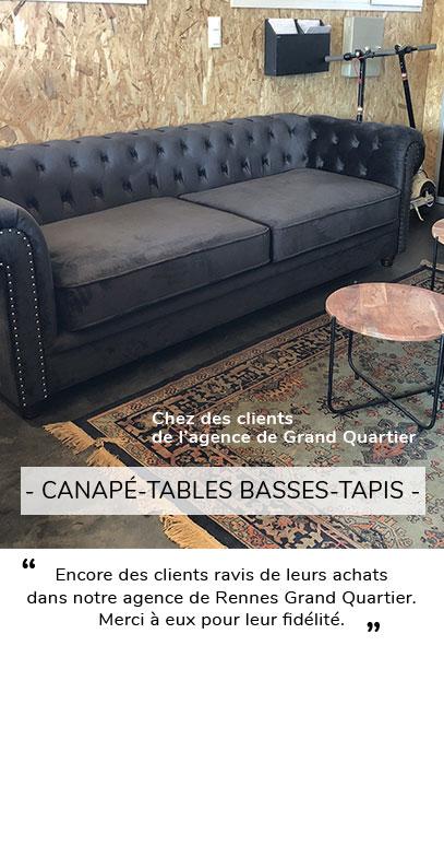 CANAPE TABLE BASSE TAPIS AVIS CLIENT