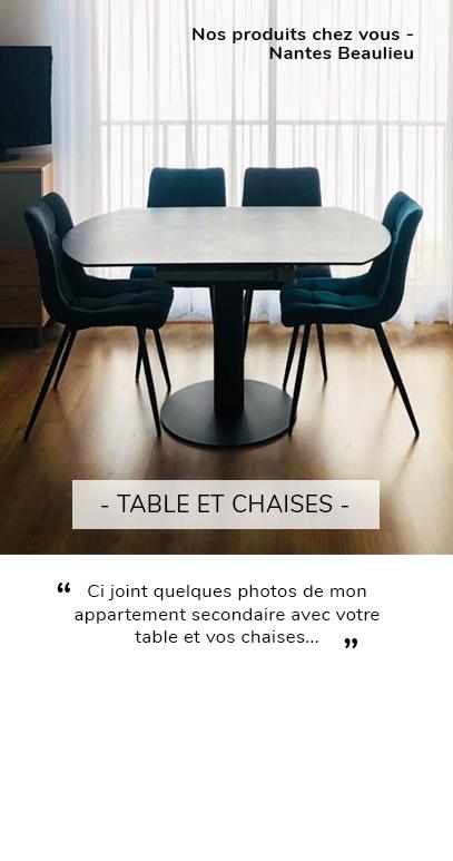 Table avis clients - Nantes