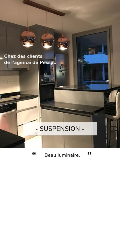 Suspension - Avis client Pessac