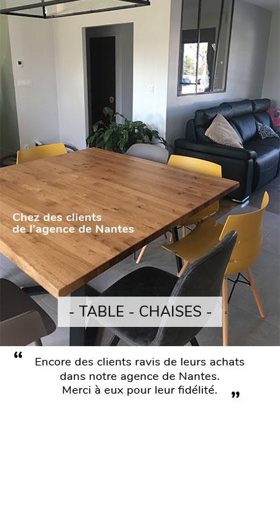 TABLE ET CHAISE AVIS CLIENT