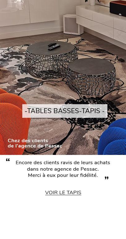 TABLE BASSE TAPIS AVIS CLIENT