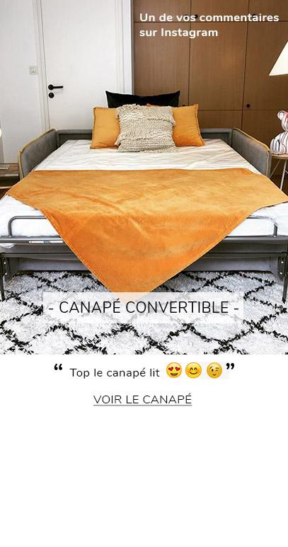 CANAPE CONVERTIBLE AVIS CLIENT