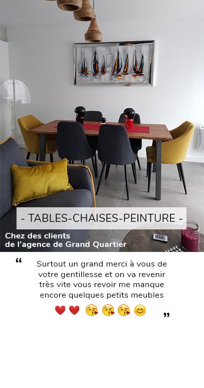 PEINTURE TABLE ET CHAISE AVIS CLIENT
