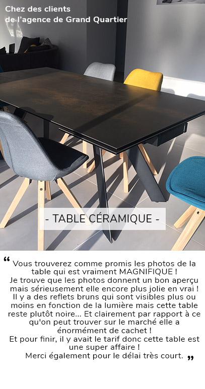 TABLE AVIS CLIENT