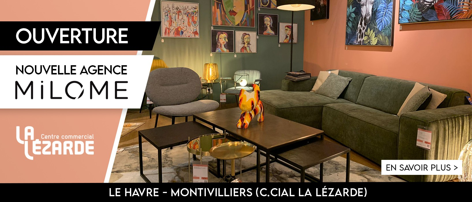 Ouverture MiLOME - La Lézarde, Montivilliers (76)