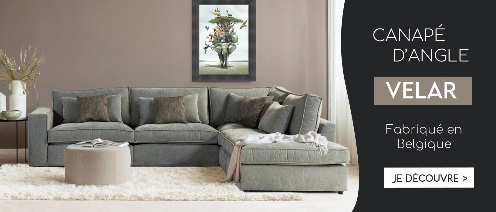 Canapé d'angle VELAR